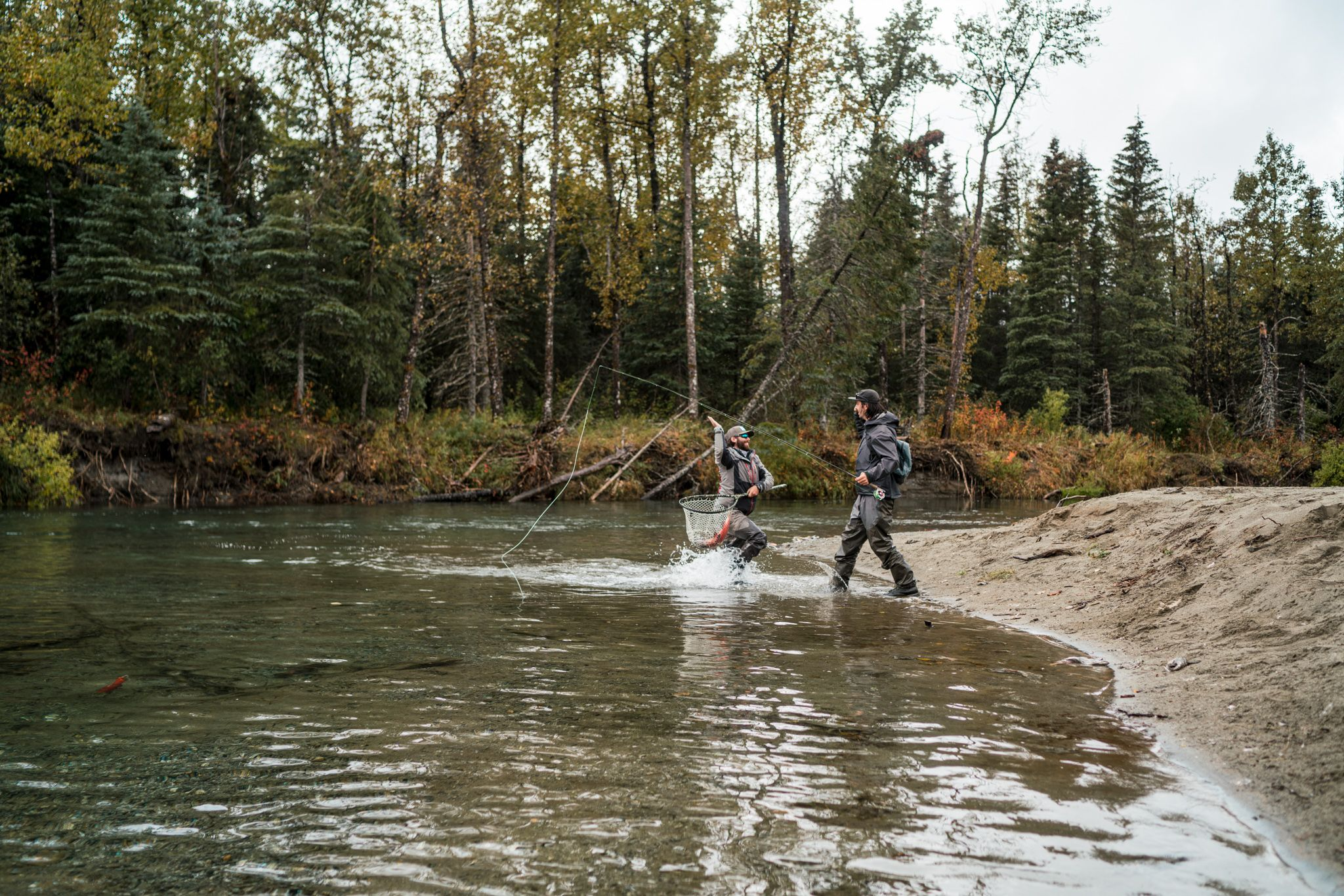 the best season for fishing alaskan rivers